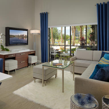 View Of The Suite At The Grove Resort Orlando
