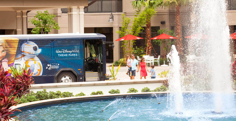 Orlando resort transportation