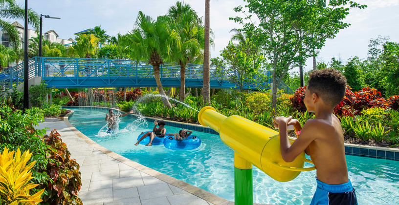 Surfari Water Park at The Grove Resort Orlando