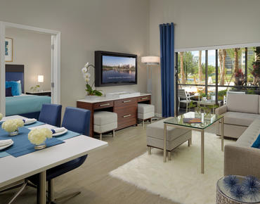 Living room at The Grove Resort & Spa Orlando
