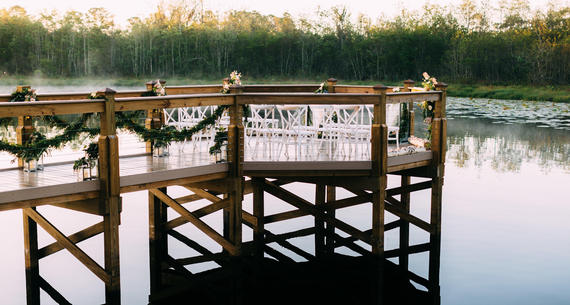 Lake Austin Pier wedding venue