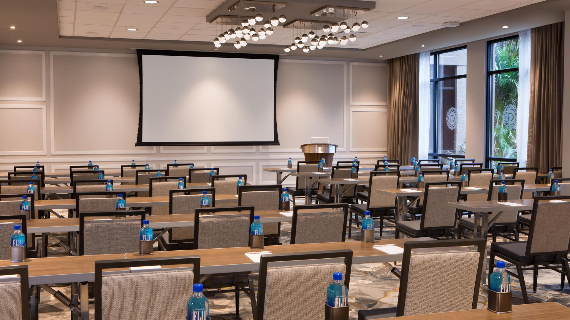 classroom setting at the grove resort orlando