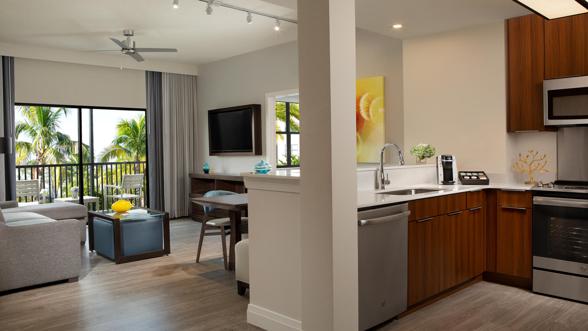The Grove's Orlando vacation rental suite bedroom