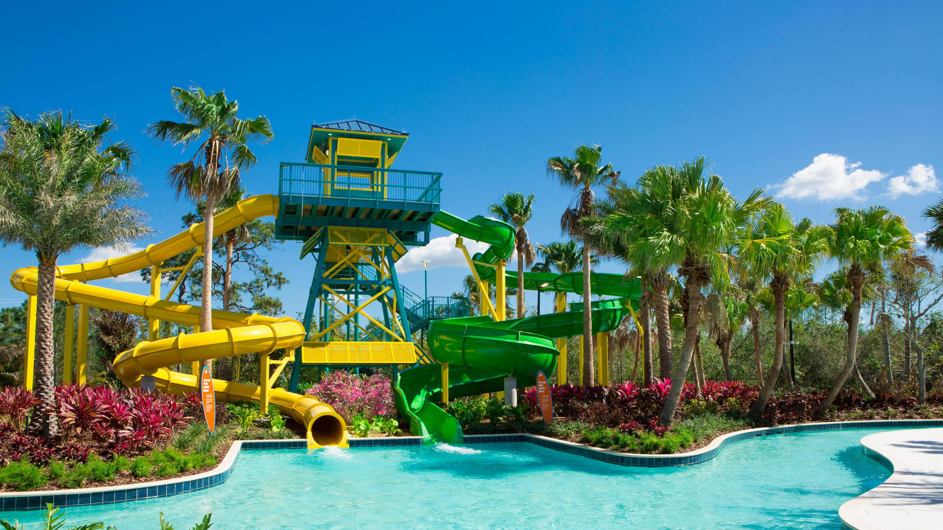 Grove waterslides